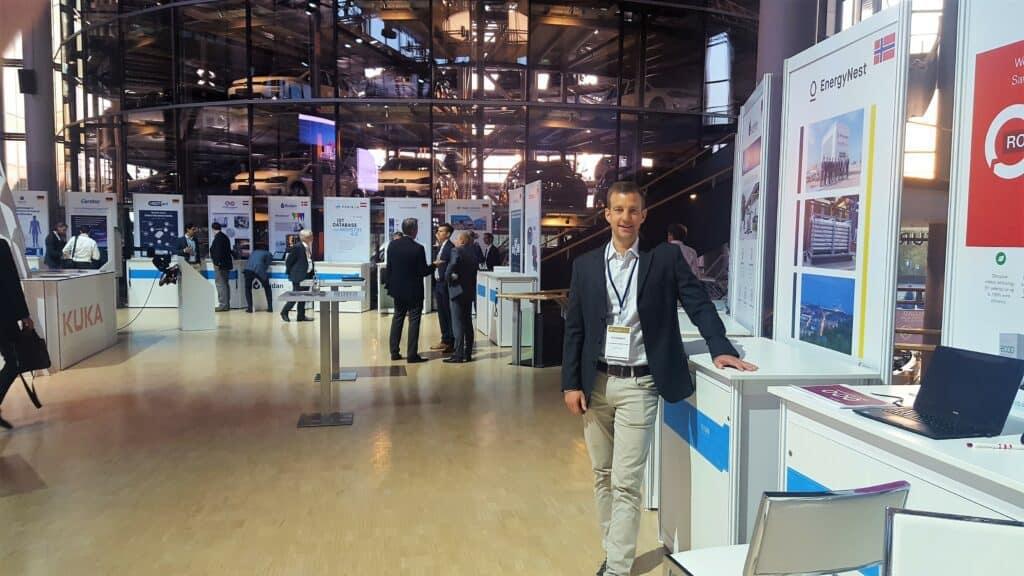Erik Diedrich from EnergyNest at HighTech Venture Days